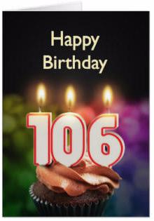 Happy Birthday 106th
