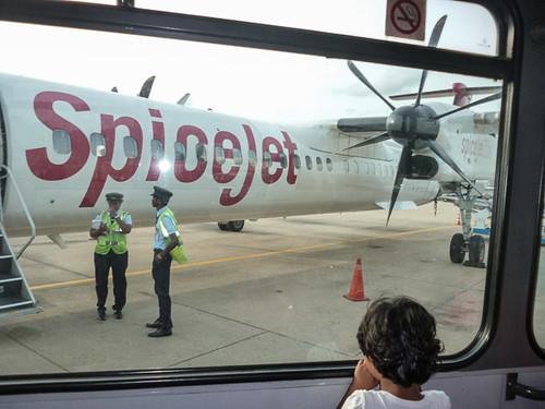Plane to India
