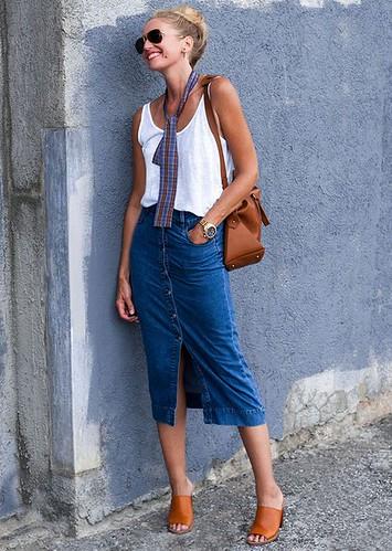 saia midi jeans 2