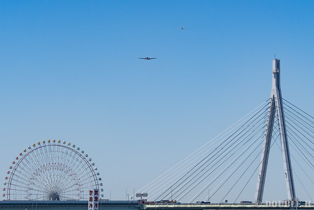 BREITLING DC-3 over Osaka City (1)