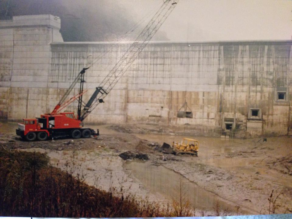 Martins Fork Lake Construction (Mid-Late 1970s)