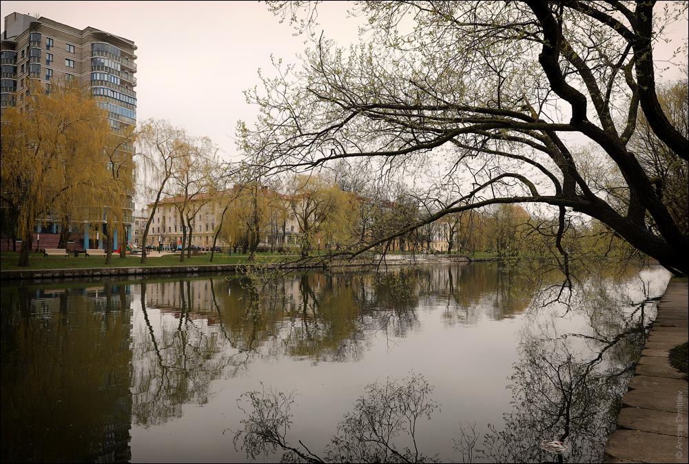 Река Свислочь