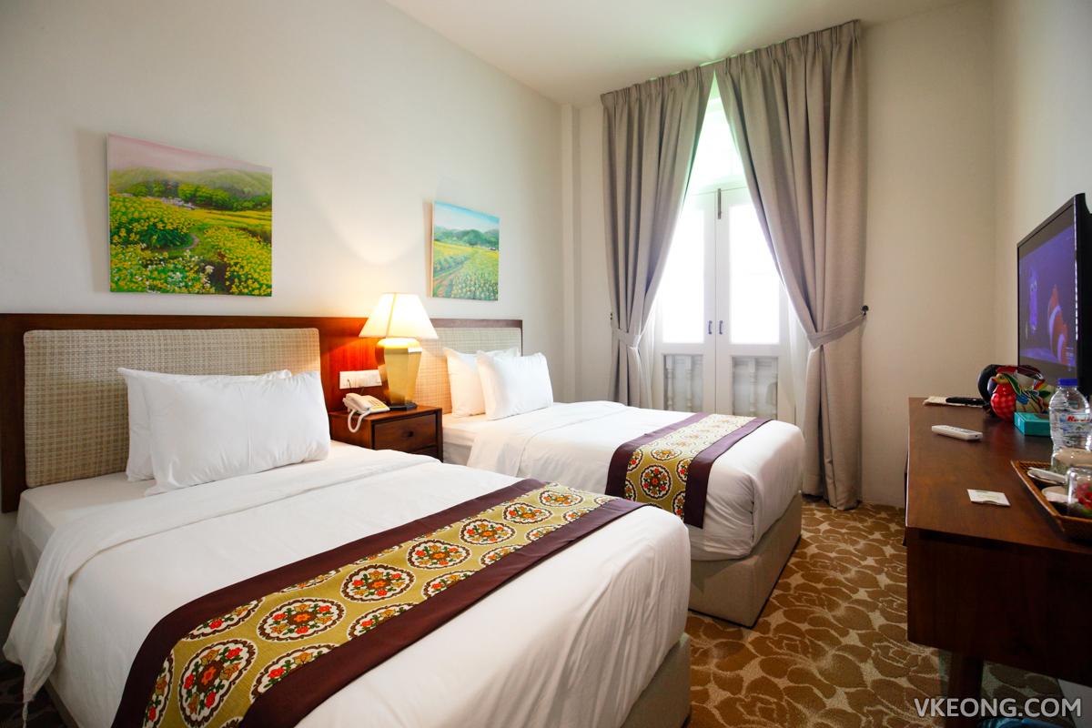 Kapitan Kongsi Melaka Twin Superior Room