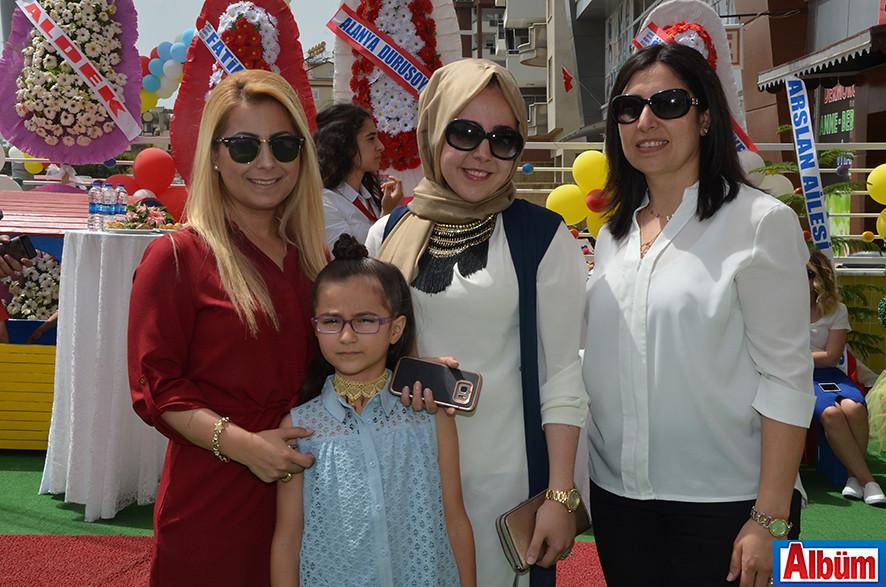 Demet Gömeç, Ece Naz Gömeç, Hatice Sifir, Selma Yılmazoğlu