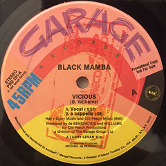 BLACK MAMBA:VICIOUS(LABEL SIDE-A)