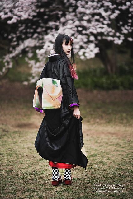 RinRin x SALZ kimono heian 6