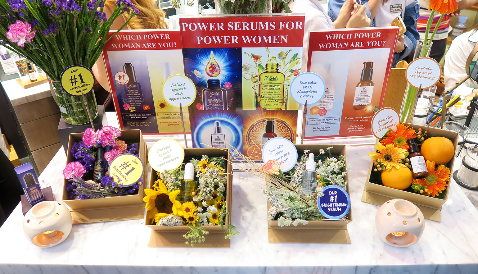 6 Kiehl's Store of the Future - Power Serums - Midnight Recovery - She Sings Beauty by Gen-zel