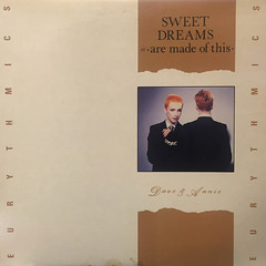 EURYTHMICS:SWEET DREAMS(ARE MADE OF THIS)(JACKET A)