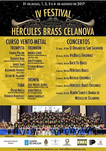 Hércules Brass Celanova 2017