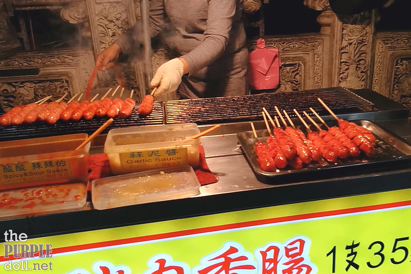 16-8 Taiwanese Sausage at Shilin Night Market