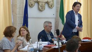 L'intervento del sindaco Giannandrea