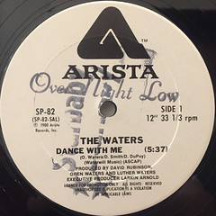 THE WATERS:DANCE WITH ME(LABEL SIDE-A)