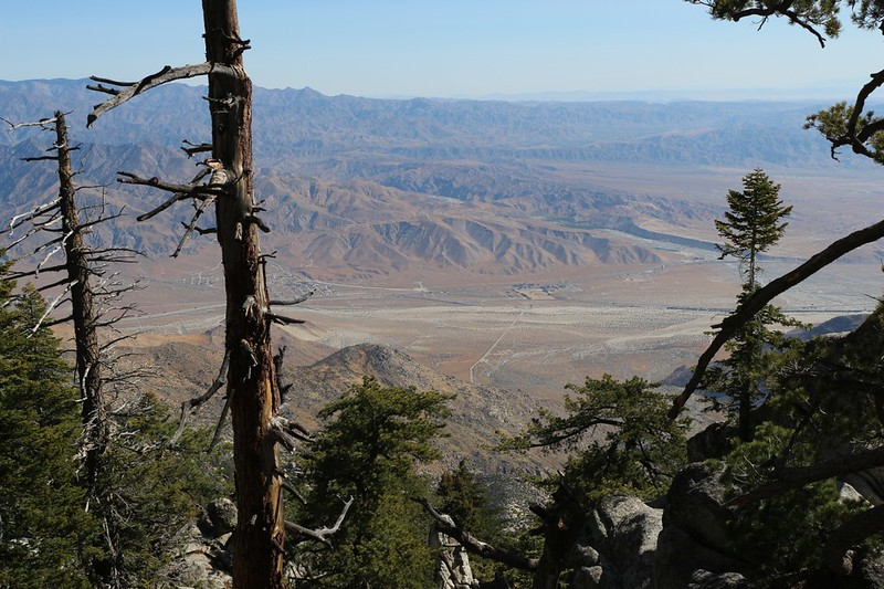 Looking northeast toward the Whitewater River from the Fuller Ridge Trail