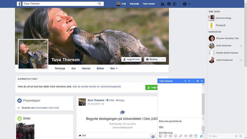 thorson facebook