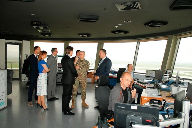 COM KFOR visited Air Navigation Services Agency of Kosovo