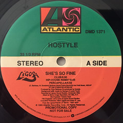 HOSTYLE:SHE'S SO FINE(LABEL SIDE-A)