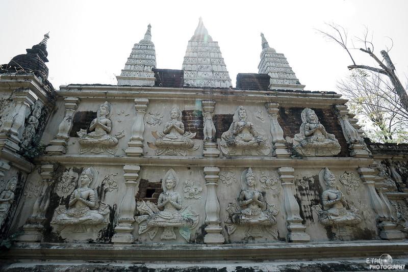 Chedi Chet Yod, Seven-Spired Pagodda, Chiang Mai