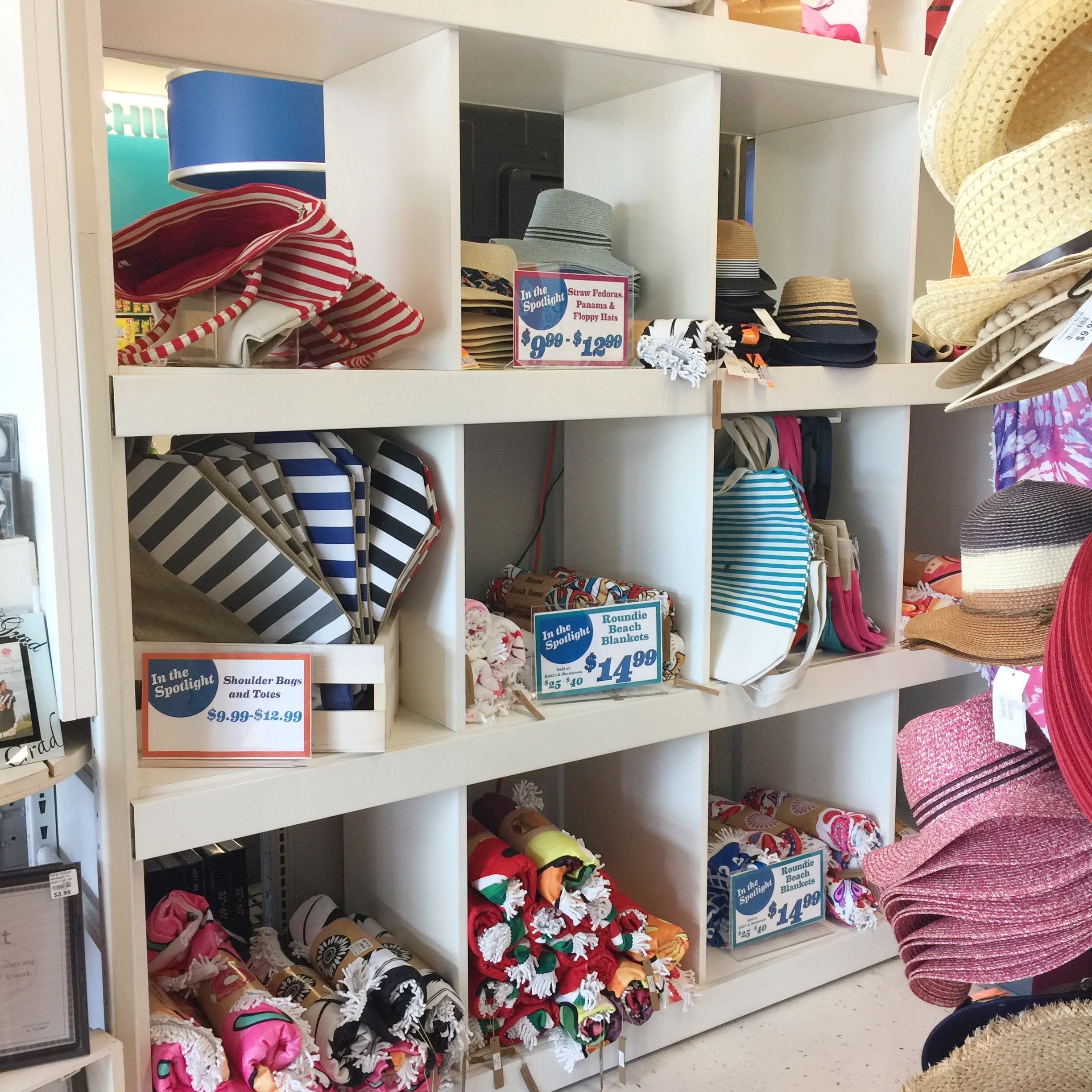 Attractive Here Today Had An Entire Summer Section When I First Walked Into The Store.  You Can Stock Up On Your Summer Hats, Flip Flops, Coverups, Beach Bags And  ...
