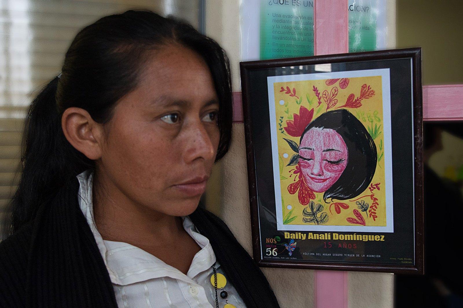Anastacia Martínez es madre de Daily Analí Domínguez de 15 años.