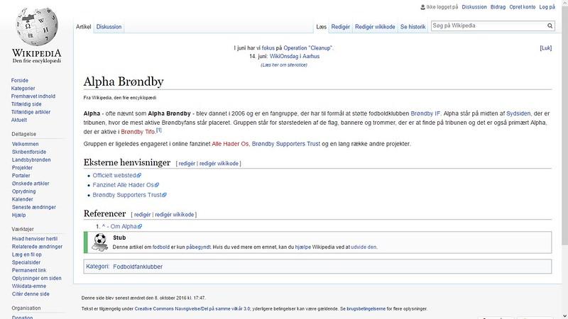 alpha brøndby wiki