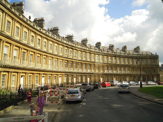 Building in Bath. From Studying Abroad in London: A Trip to Bath