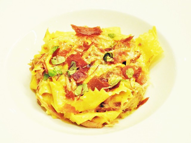 Pappardelle With Iberico Pork Ragout And Guanciale