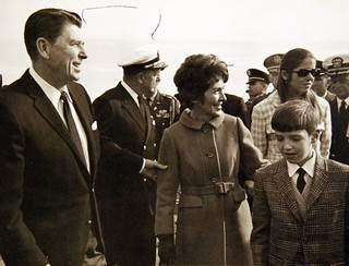 Image of Governor Ronald Reagan of California, 1968.