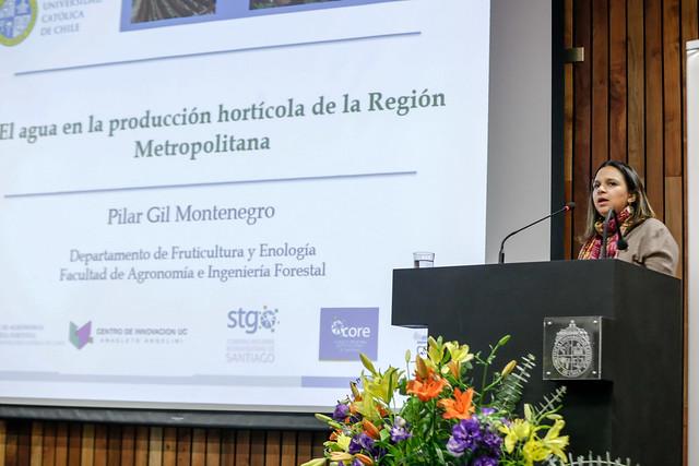 """Seminario """"Eficiencia en el uso y calidad del agua de riego para una industria de hortalizas sustentable e inocua"""""""
