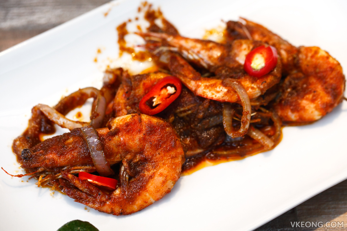 TLC Charcoal BBQ Sambal Prawn