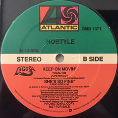 HOSTYLE:SHE'S SO FINE(LABEL SIDE-B)