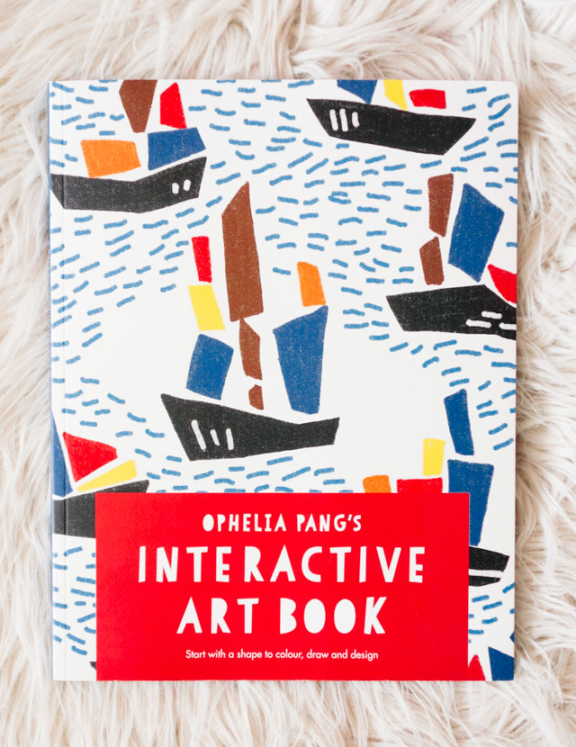 Ophelia Pang's interactive art book | book review