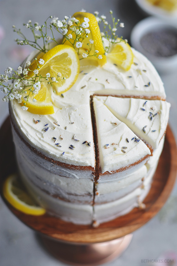 lemon layer cake // bethcakes.com