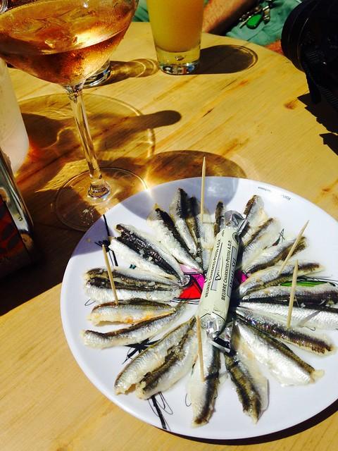 Petits anchois au vinaigre
