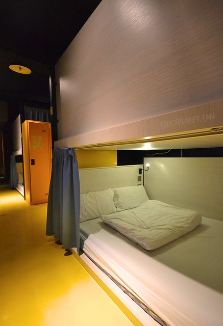 ximen corner hostel double beds dorm