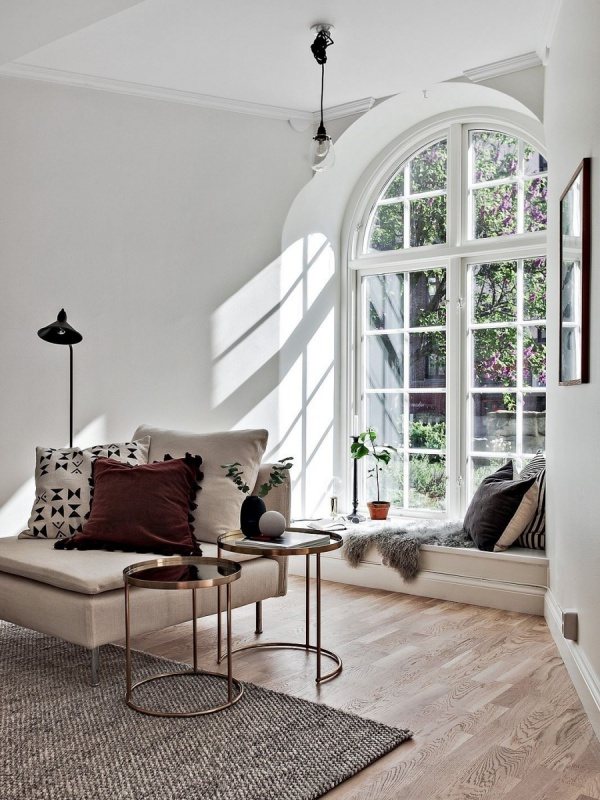Beautiful Small Scandinavian Apartment