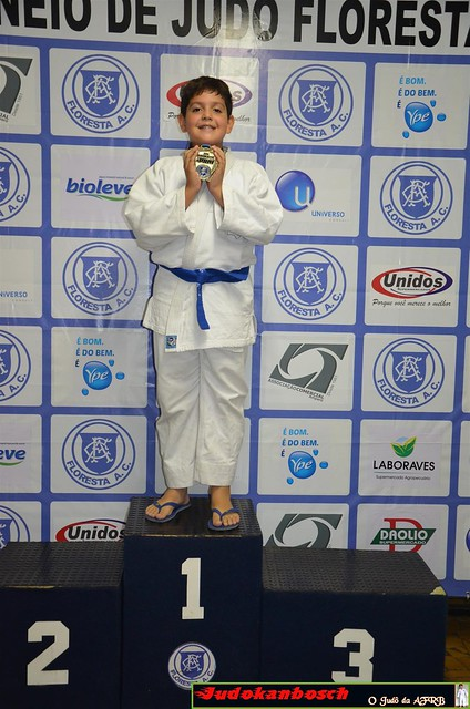 21º Torneio de judô Floresta Amparo 03.06.2017 - Pódios Atletas
