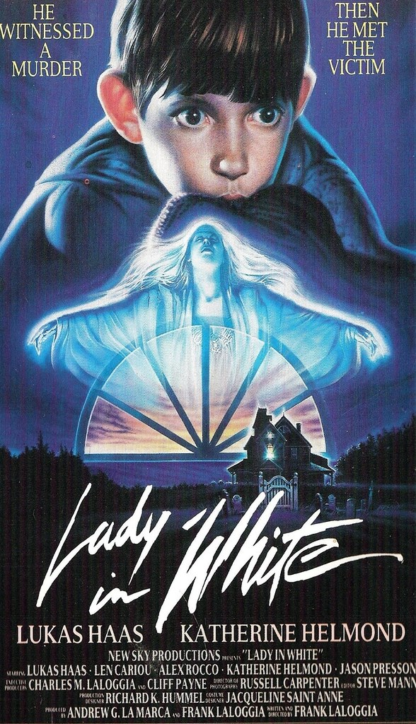 Lady in White - Poster 1