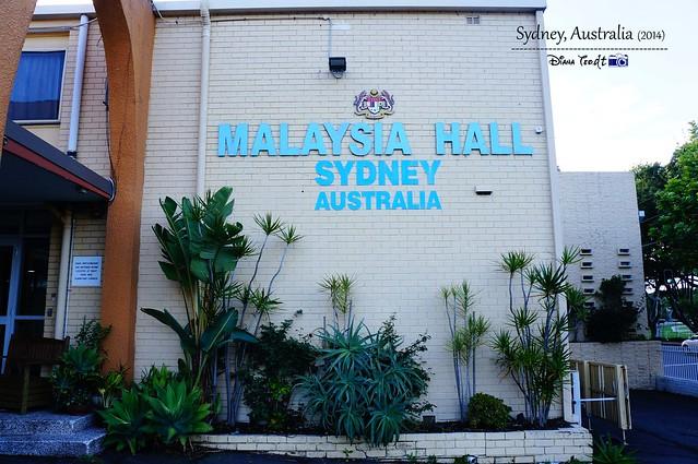 Malaysia Hall Sydney Australia
