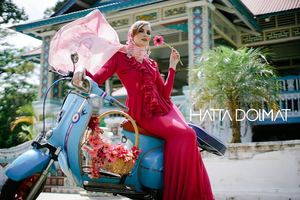 Hatta Dolmat Lancar Koleksi Baju Raya Inspirasi Taman Vintage ... 5a64e04a98