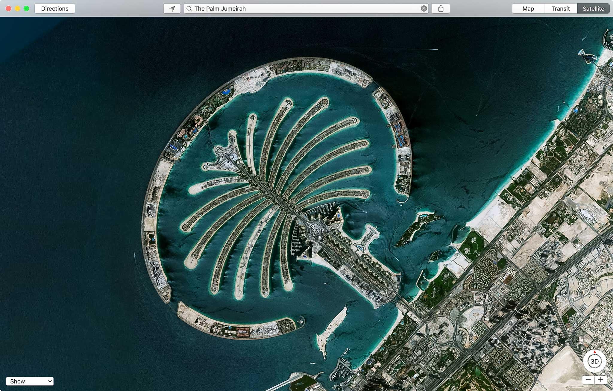 Đảo Palm Jumeirah, UAE.