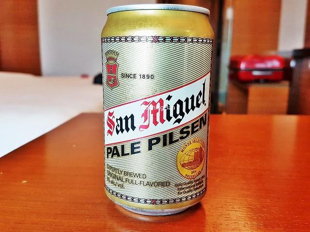 Beer San Miguel Pale Pilsen