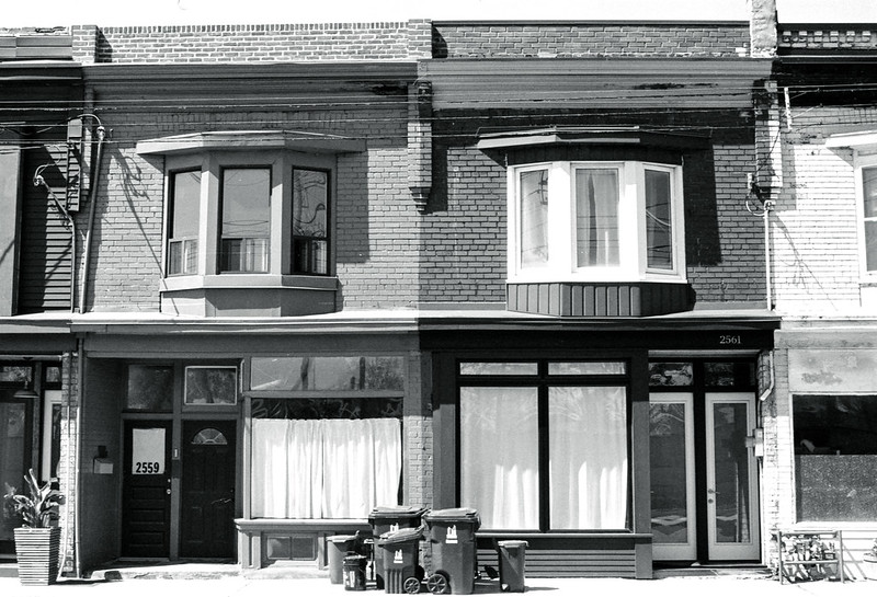 Dundas Storefronts Turned Residential_