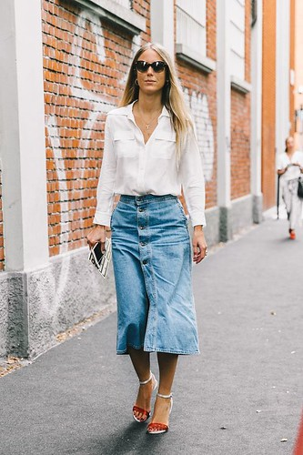saia midi jeans 9