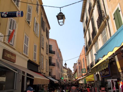 Calle Meynadier de Cannes