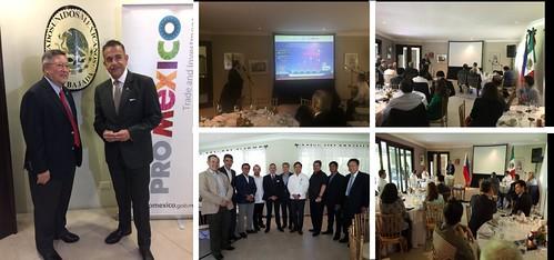 Seminario de comercio e inversión Mexico and the Philippines Gateways to the Americas and to ASEAN