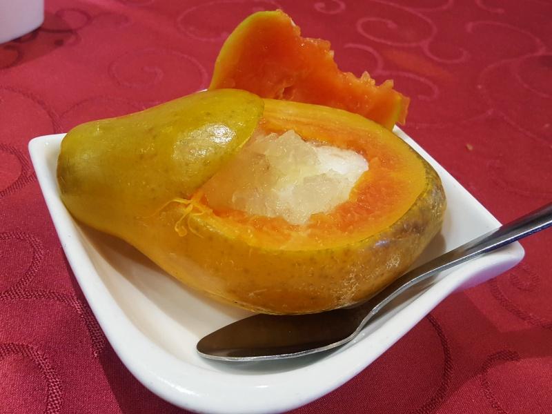papaya dessert