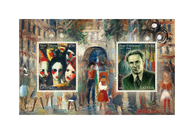 Pastmarku bloks - Jānim Tīdemanim 120
