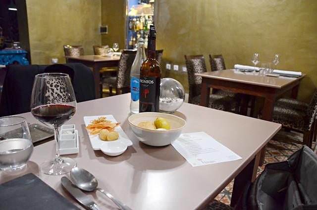 Appetisers, La Arena 53, La Orotava, Tenerife
