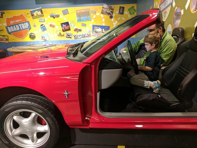 LeMay Car Museum: Driving a Car