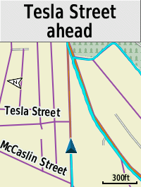Edge 820 map page